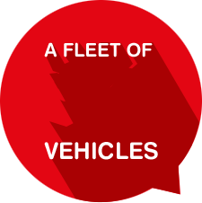 Fleet of 36 vehicles
