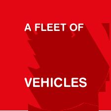 Fleet of 36 vehicles